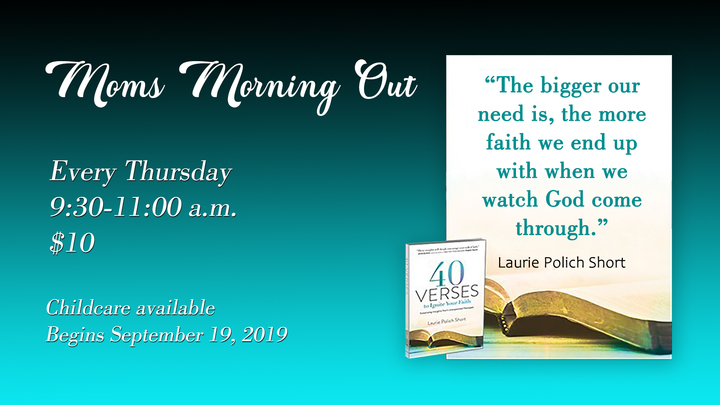 Mom's Morning Out -- 40 Verses to Ignite Your Faith logo image
