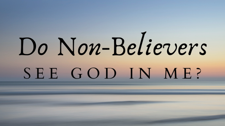 Connect Group with Rudy & Sandra Merriweather - Do Non-Believers See God in Me? logo image