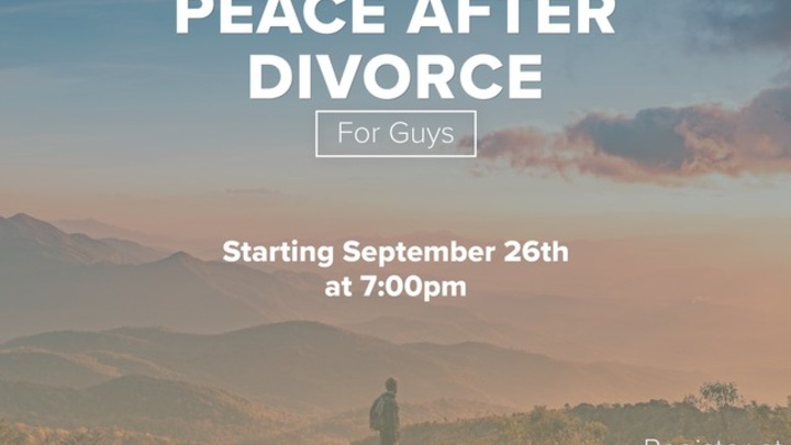 Peace After Divorce (for guys) logo image