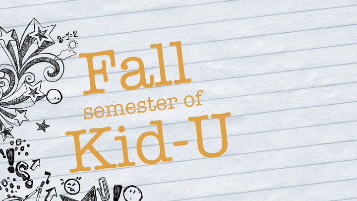 Kid-U Fall Semester logo image
