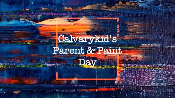 Parent & Paint Day logo image