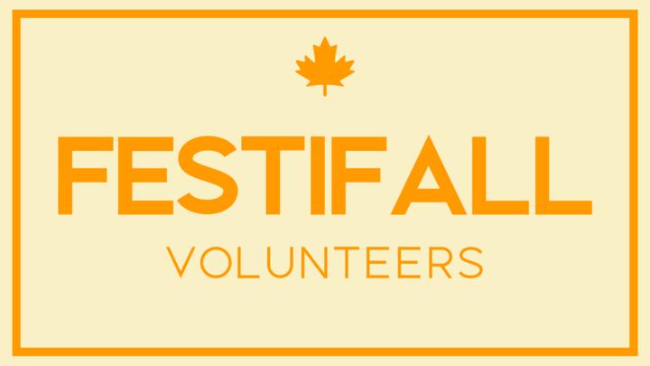 FESTIFALL VOLUNTEERS logo image
