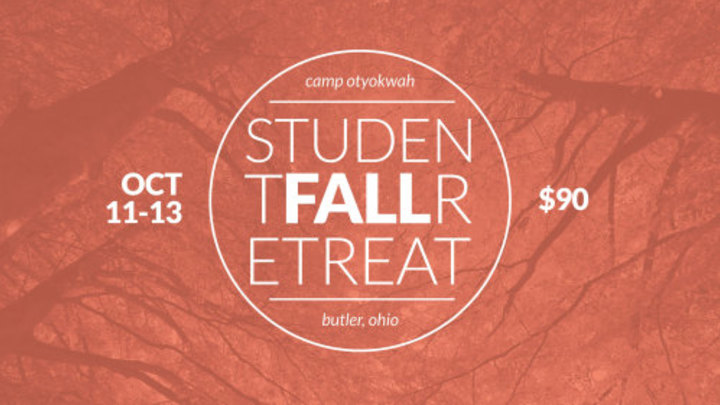 Student Fall Retreat logo image