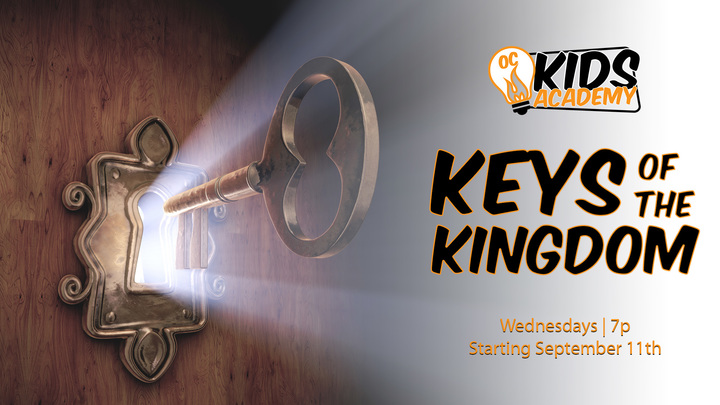 OC Kids Academy: Keys of the Kingdom logo image
