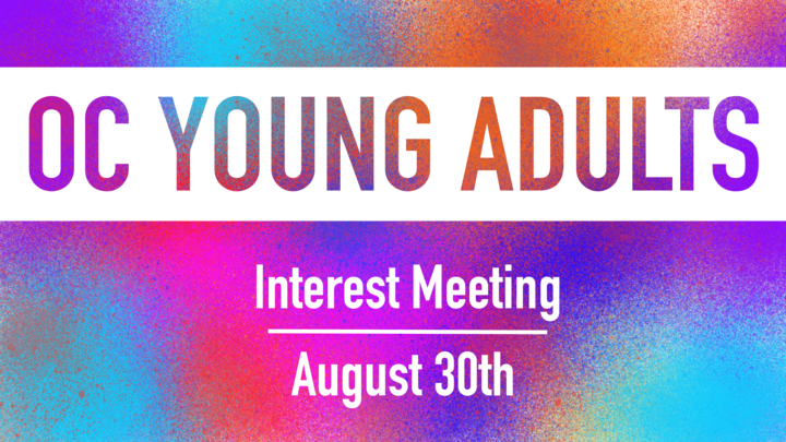 Young Adults Interest Meeting logo image