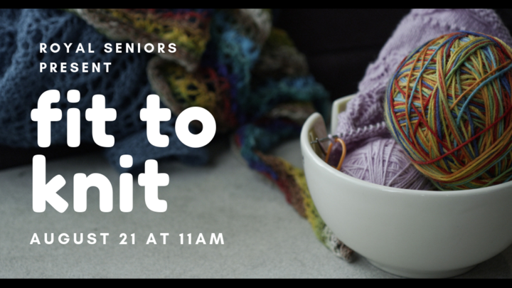 Royal Seniors: Fit to Knit logo image