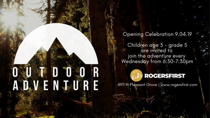 Outdoor Adventure - Wednesday Night Program logo image