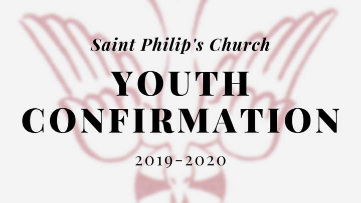 2019-2020 Youth Confirmation Class logo image