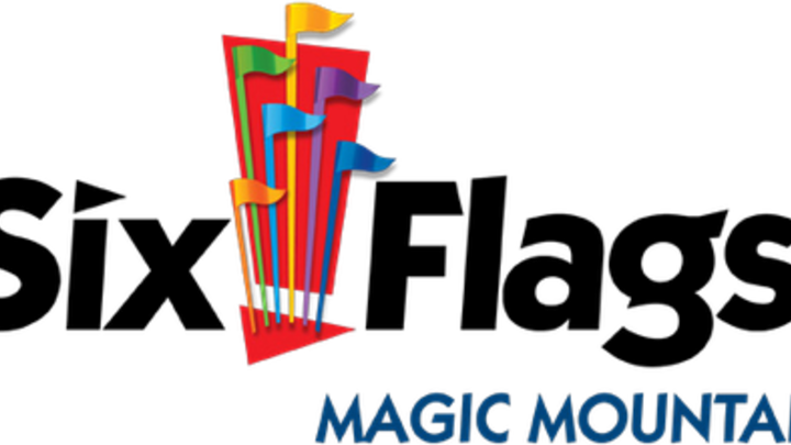 Red Door Six Flags Magic Mountain logo image