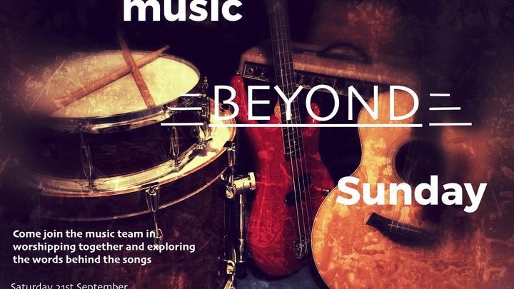 Music beyond Sunday logo image