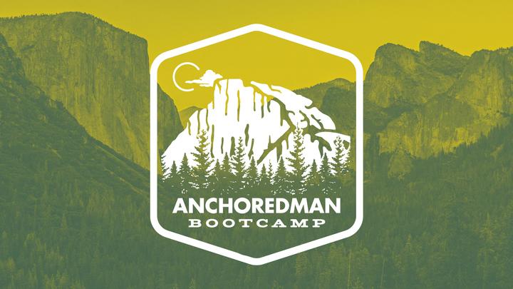 Anchoredman Bootcamp logo image