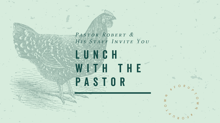Lunch With the Pastor logo image