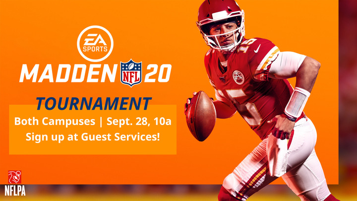 Madden 20 Tournament at Life Changing Church logo image