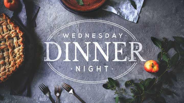 Wednesday Night Dinners - September 2019 logo image
