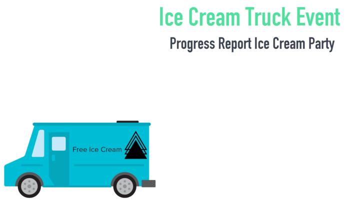 Progress Report Ice Cream Party logo image