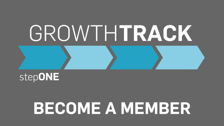 Growth Track stepONE  -  Become a Member logo image