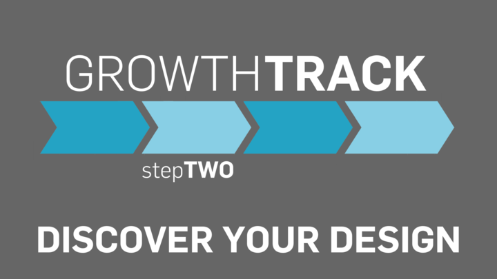 Growth Track stepTWO  -  Discover Your Design logo image