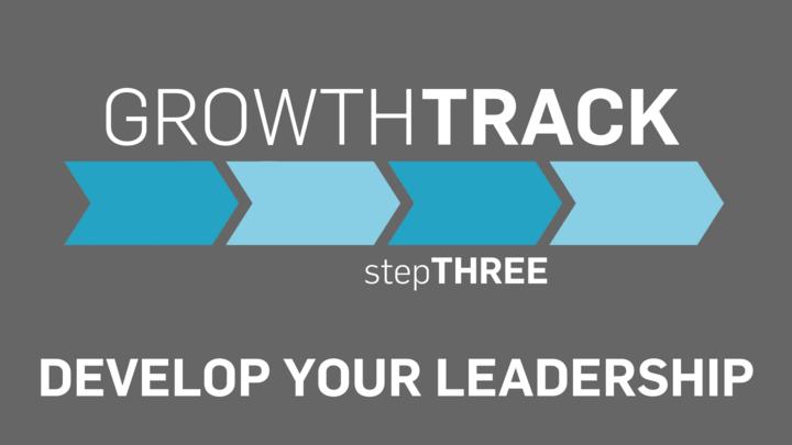 Growth Track stepTHREE  -  Develop Your Leadership logo image