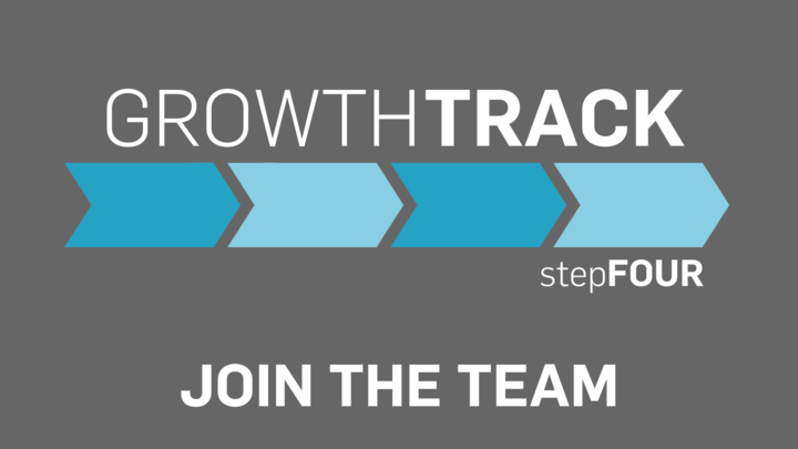 Growth Track stepFOUR  -  Join the Team logo image