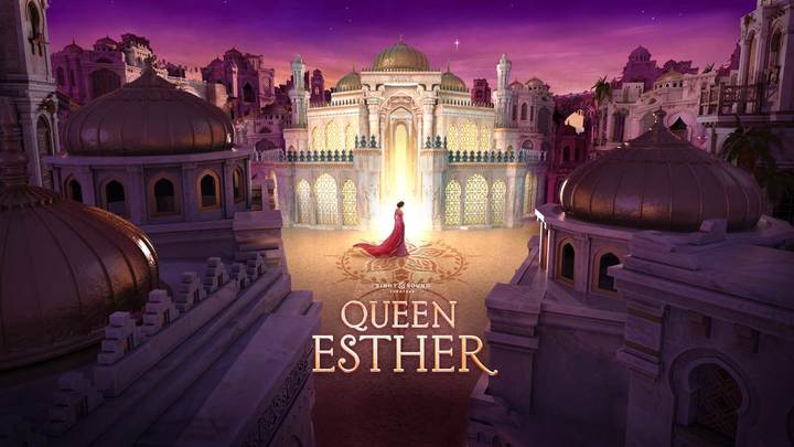 "GYM - Sight and Sound ""Queen Esther"" logo image"