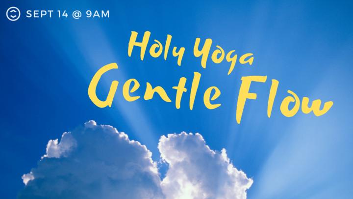 Holy Yoga Gentle Flow logo image