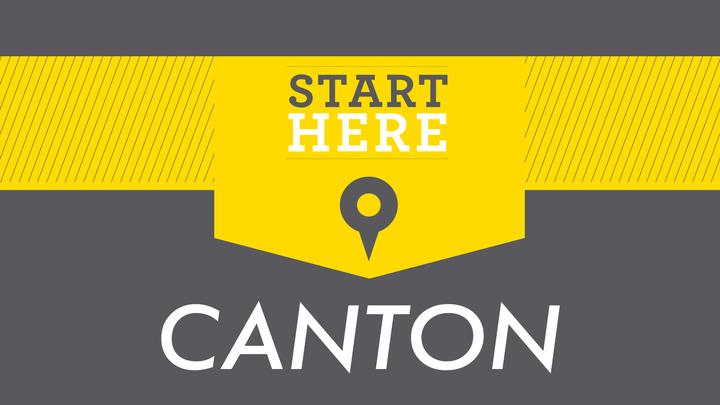 Start Here Canton logo image