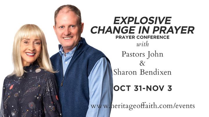 Explosive Change in Prayer logo image