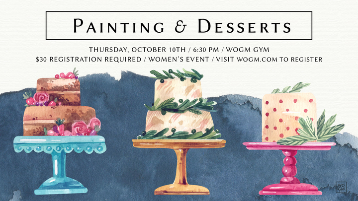 Painting & Desserts logo image