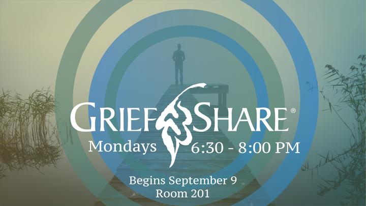 GriefShare - Mondays, 6:30 - 8 PM logo image