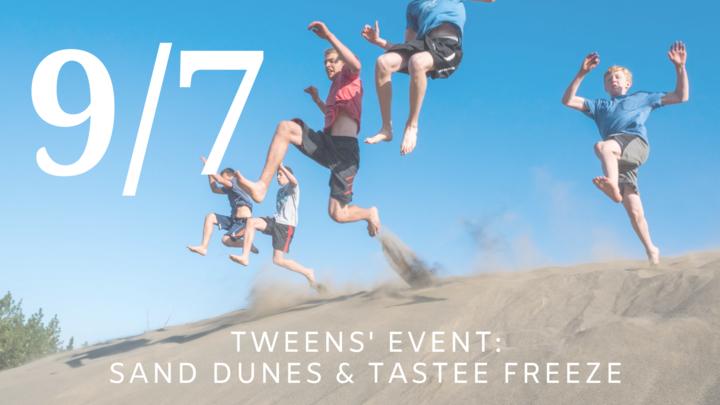 Tweens' Event: Sand Dunes & Tastee Freez logo image