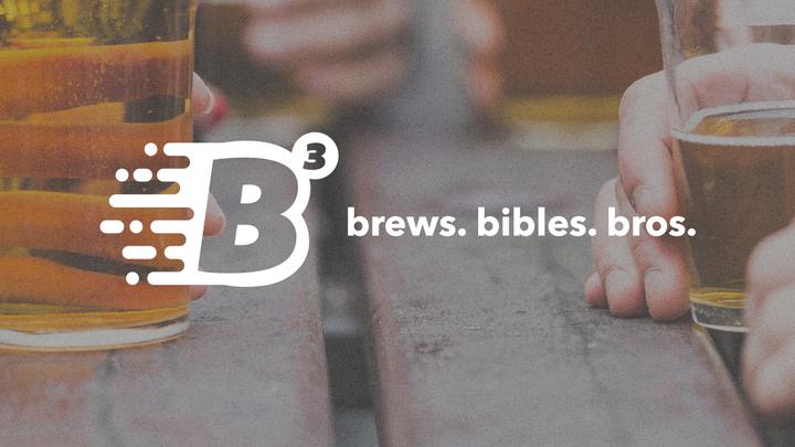 B3 - Brews. Bibles. Bros. logo image