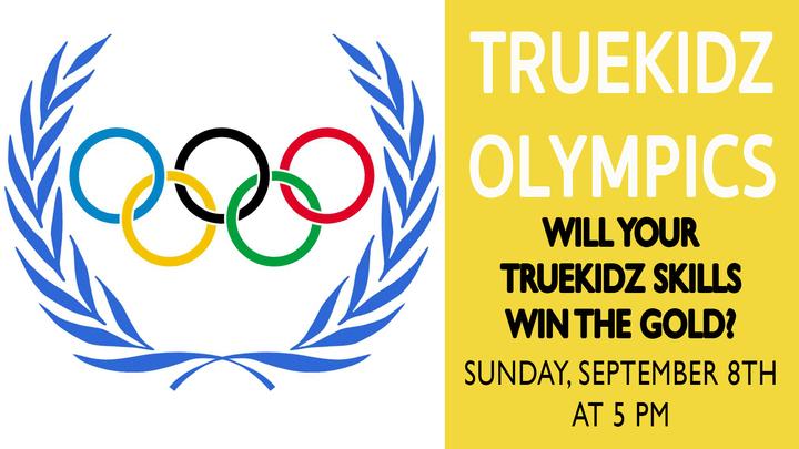 TrueKidz Olympics: Will your TrueKidz team win the gold? logo image