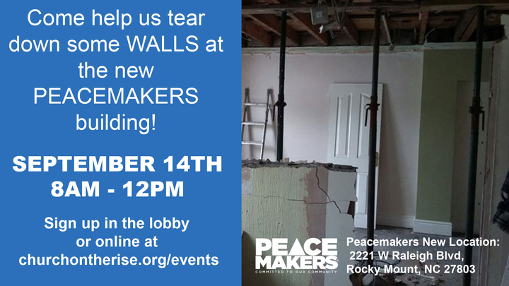Peacemakers Work Day logo image