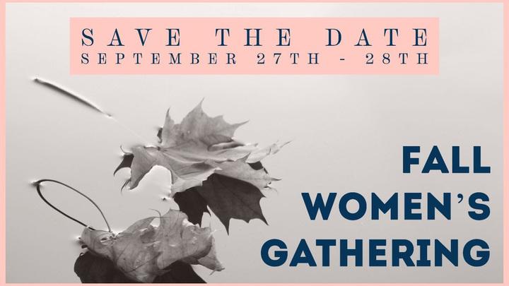 Fall Women's Gathering logo image