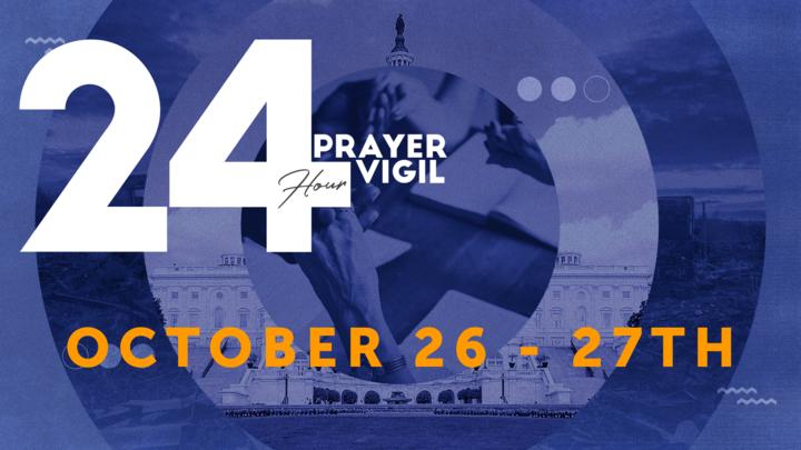 24 Hour Prayer Vigil logo image
