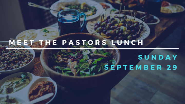 Meet the Pastors Lunch logo image