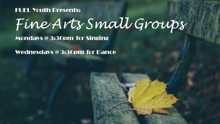 FUEL Youth Fine Arts Small Groups 2019:  logo image