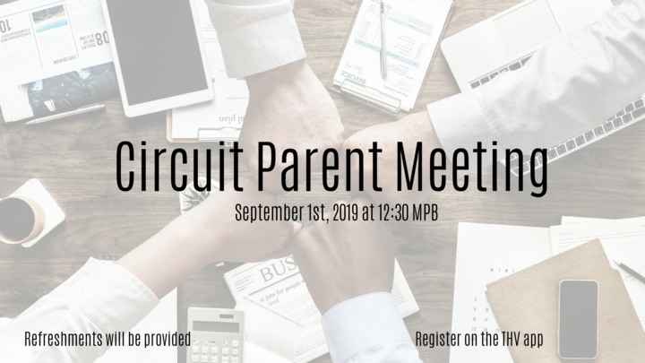 Circuit Parent Meeting logo image