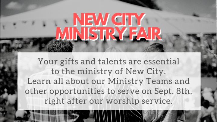 New City Ministry Fair! logo image