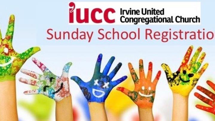 Sunday School Registration 2019-2020 logo image