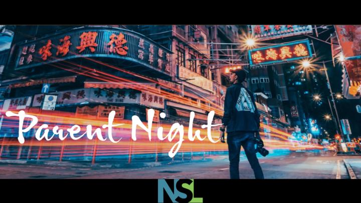 NSL Parent Night logo image