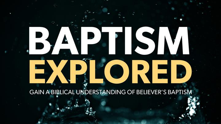 Baptism Explored logo image