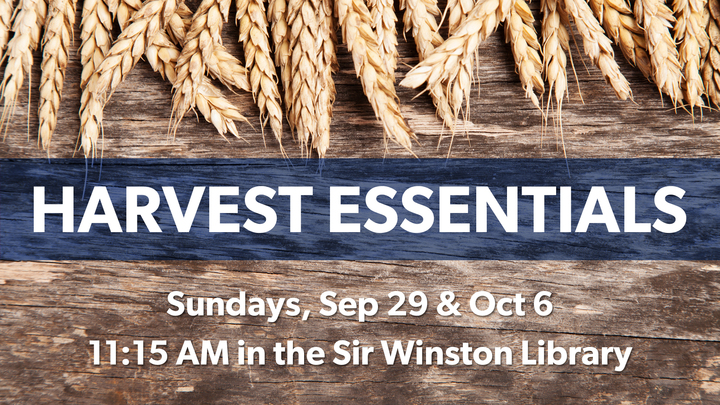 Harvest Essentials [Sept 29 & Oct 6] logo image