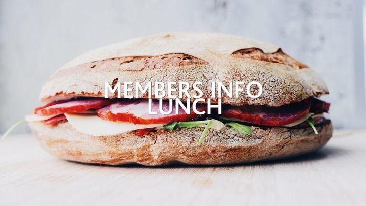 Members Info Lunch logo image