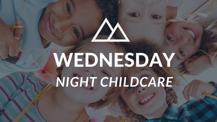 Wednesday Night Childcare Registration logo image