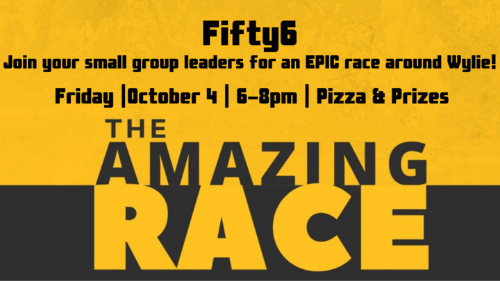 Fifty6 Amazing Race logo image