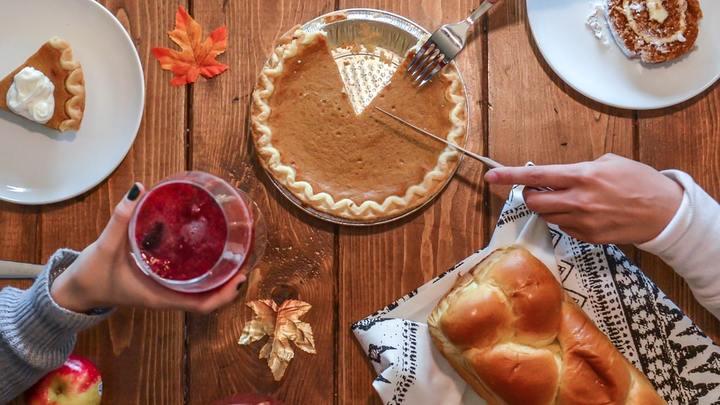 Thanksgiving Holiday Hosting logo image