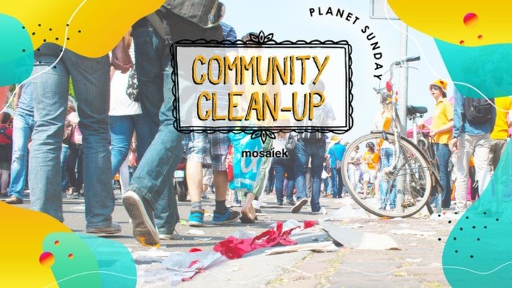 PLANET SUNDAY - Community Clean-Up logo image