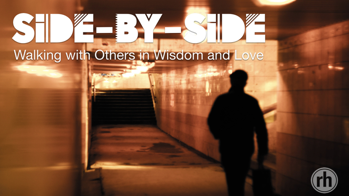 Side-by-Side | Walking with Others in Wisdom and Love logo image