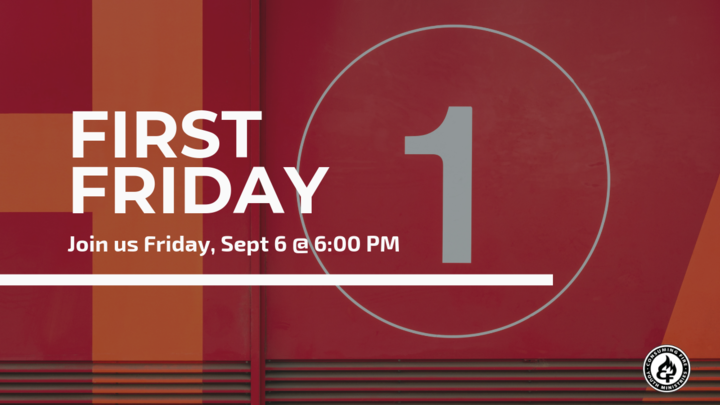 FIRST FRIDAY logo image